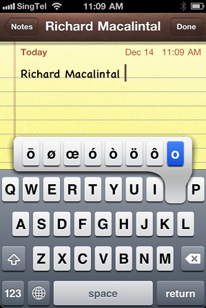 iphone tips and tricks special characters