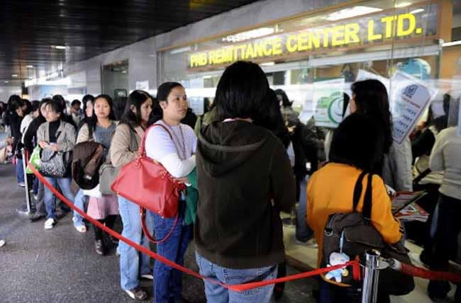 ofw remittance to philippines