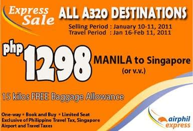 air phil express budget airline ticket sale