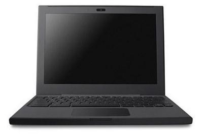 google cr-48 chrome os notebook