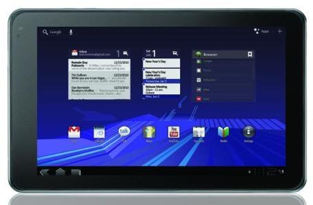 LG optimus pad tablet